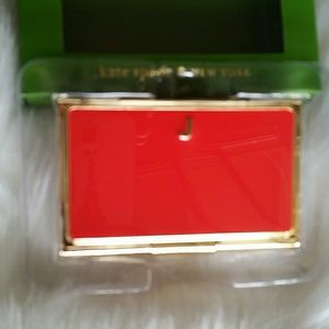 kate spade Other - Kate Spade Business  card holder with letter J